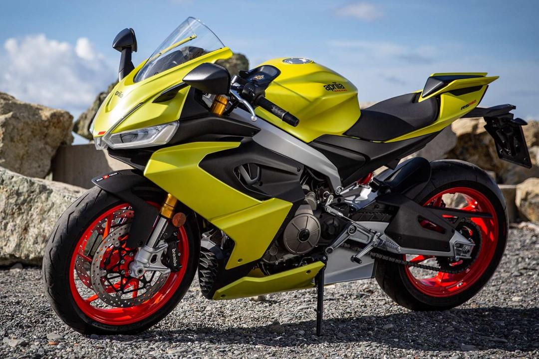 Aprilia RS660 - 10 Best 600cc Supersport Motorcycles