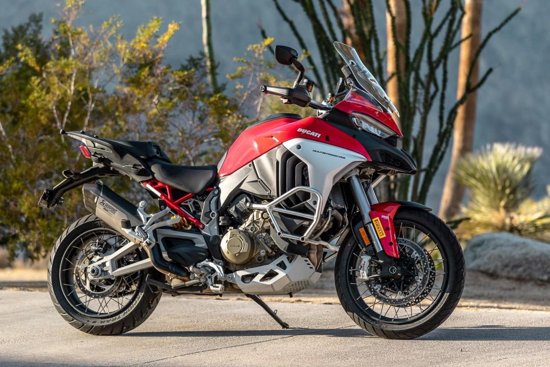 Ducati Multistrada V4 - best motorcycles