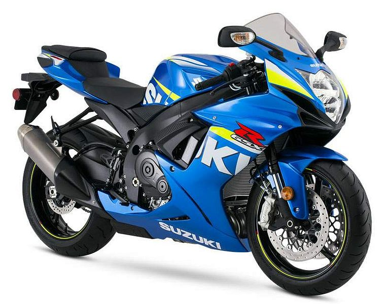 Suzuki-GSX-R600 2015 - 10 Best 600cc Supersport Motorcycles