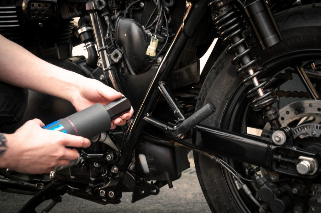 howto fit a motorcycle alarm