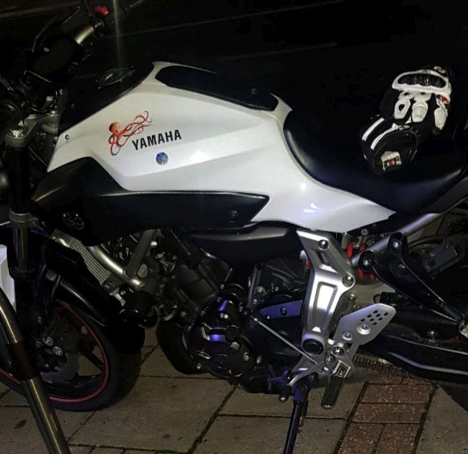 Anna's Yamaha MT-07