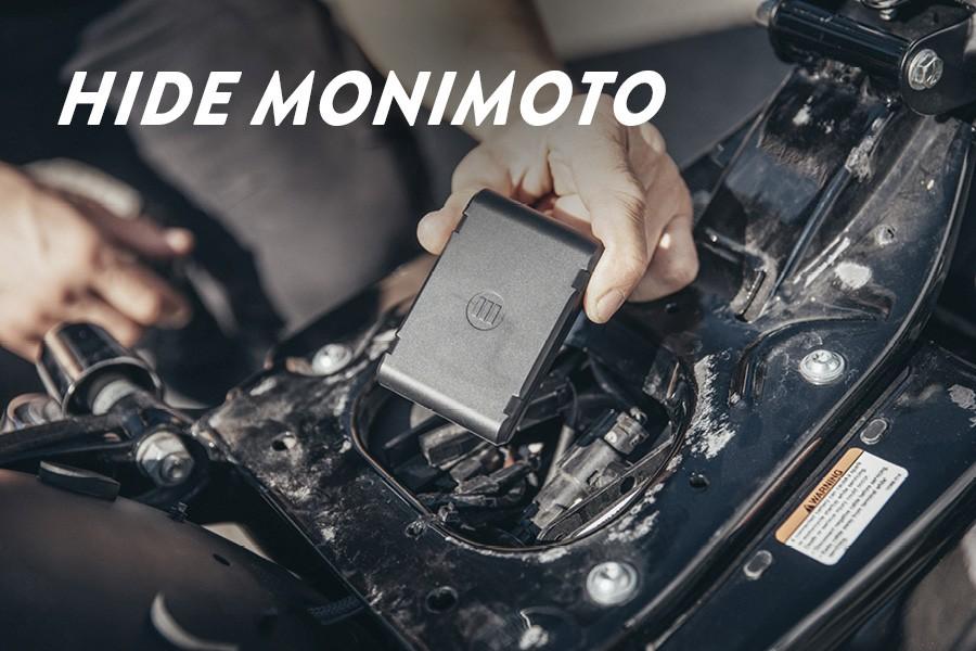 Hide Monimoto device