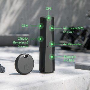 Monimoto le tracker GPS et clé
