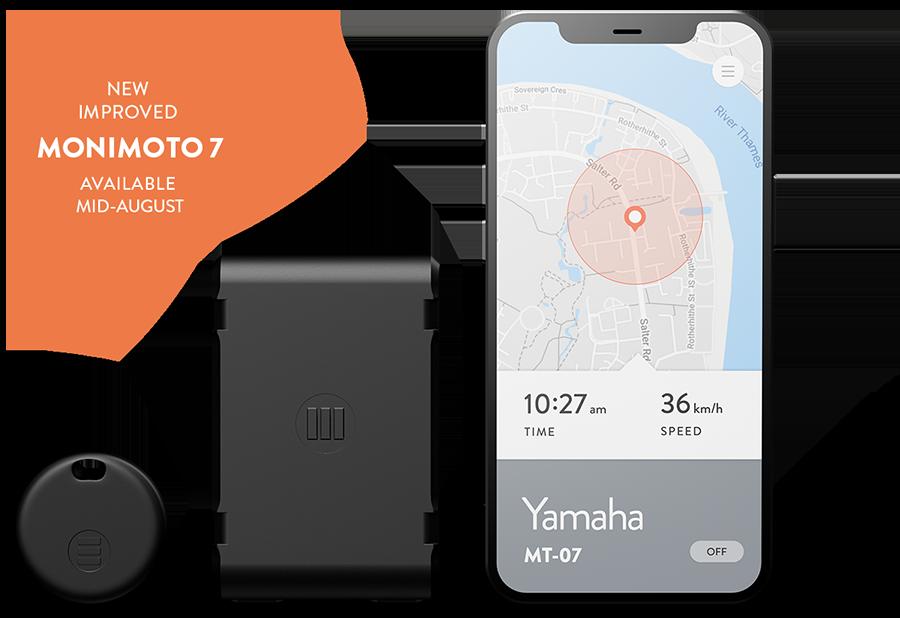 Monimoto 7 smart motorcycle GPS tracker