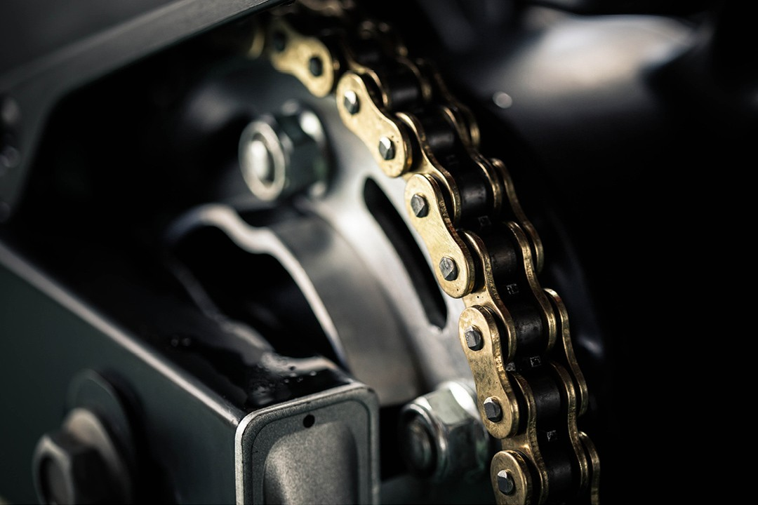 Motorcycle maintenance - motorcycle chain