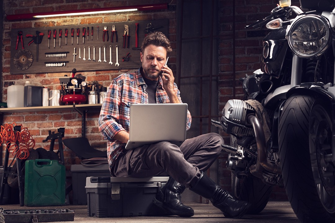 Motorcycle maintenance manual