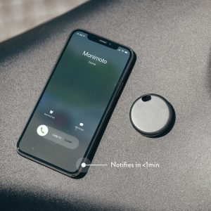 Phone screen when Monimoto is calling