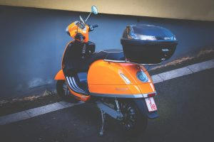 scooter top box