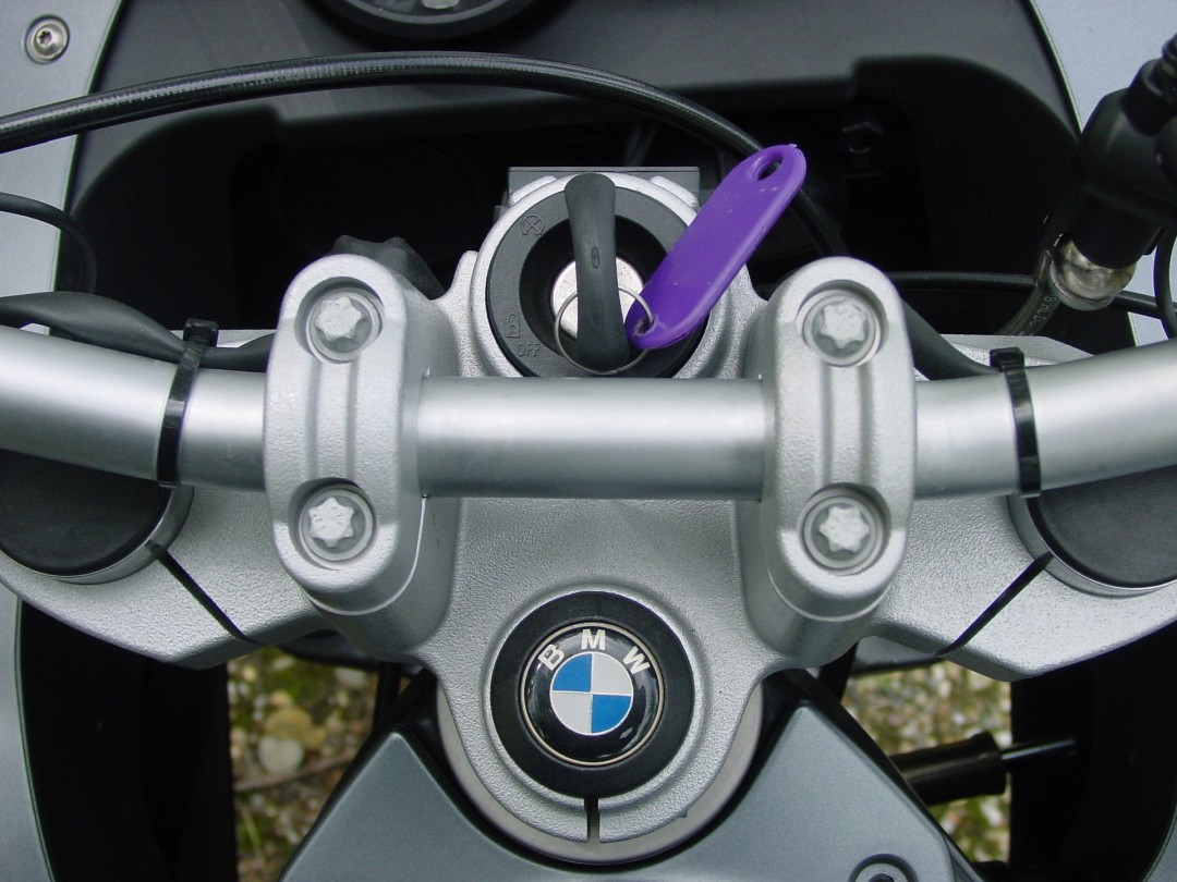 Steering lock - best motorcycle security