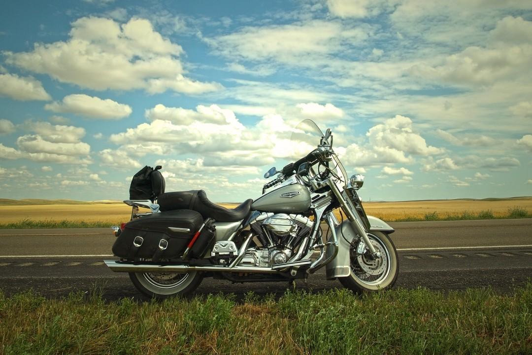Tourer motorcycle